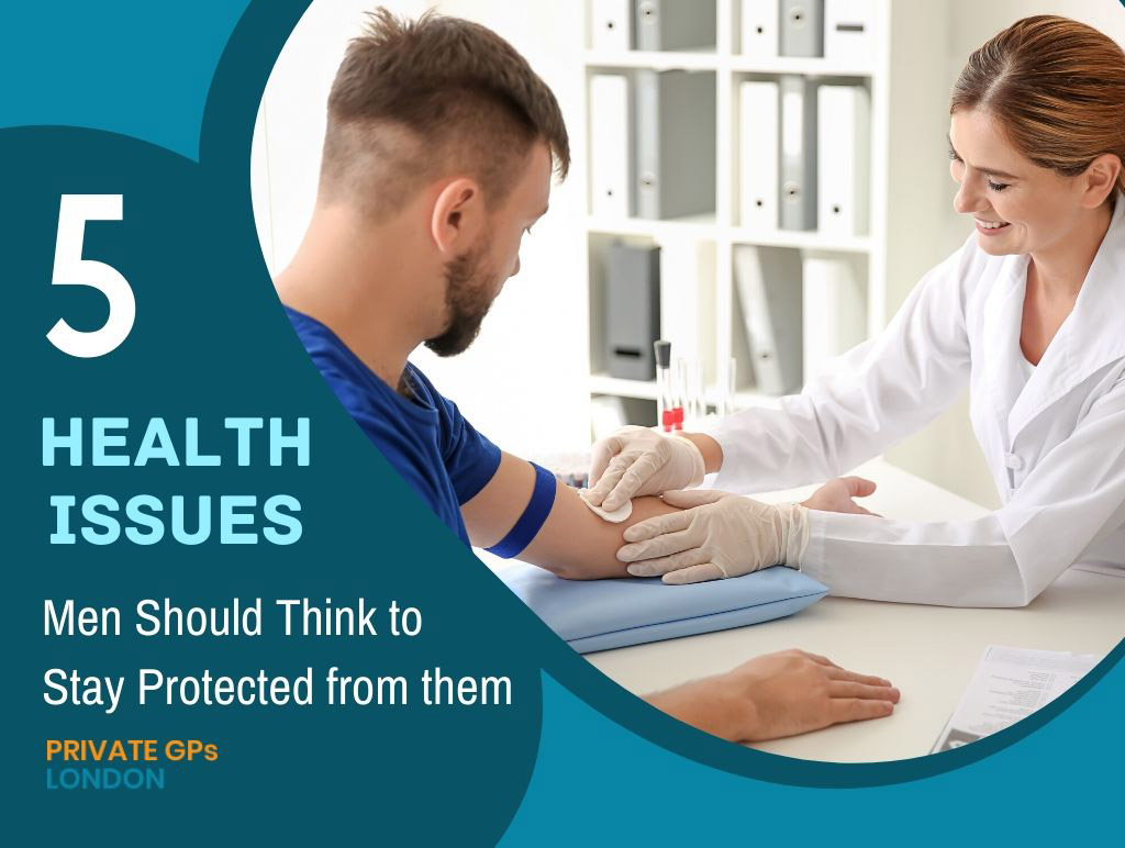 Health Problems Men Should Think to Stay Protected from them